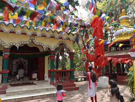 Mahakal Mandir in Darjeeling