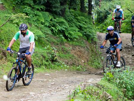Mountain Biking in shimla