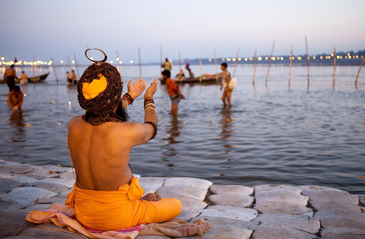 Yogis & Sadhus in Kumbh Mela