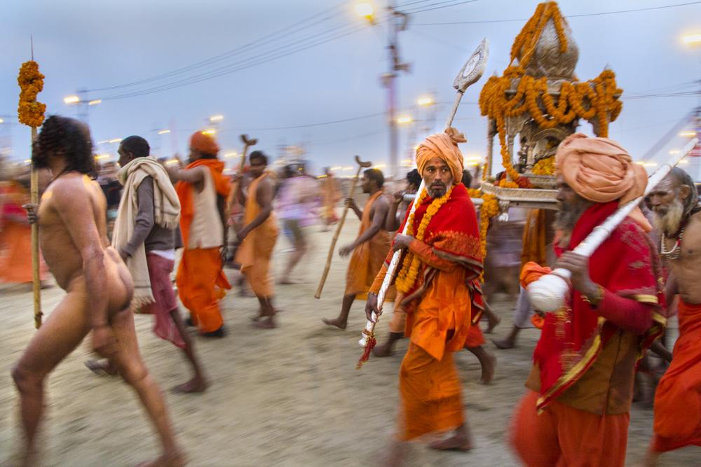 Naga Sadhus During Kumbh Mela