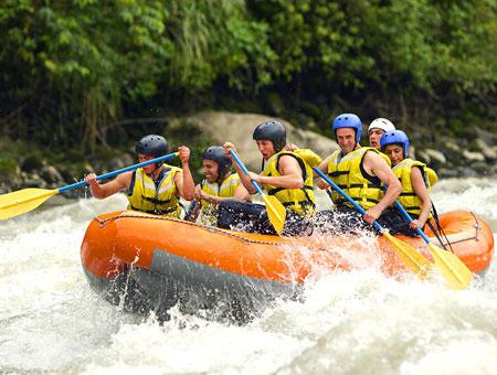 White water rafting in Darjeeling