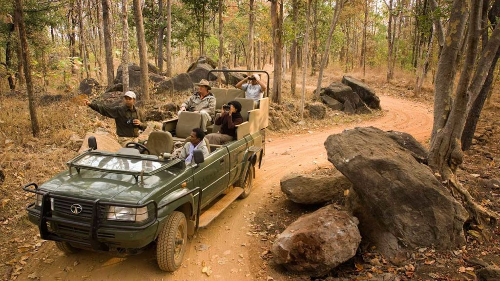 Jim Corbett National Park jeep safari trip to corbett