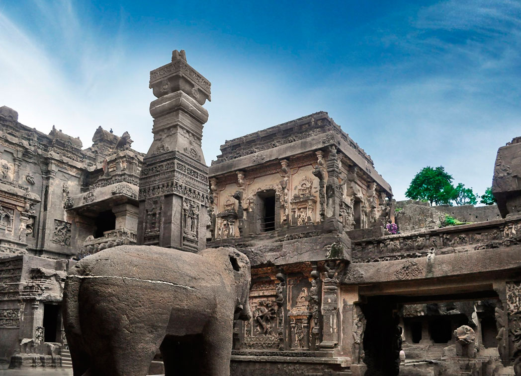 Ellora-Caves in Aurangabad
