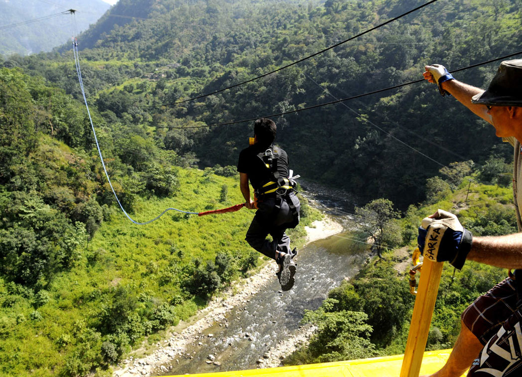 Giant Swing in rishikesh