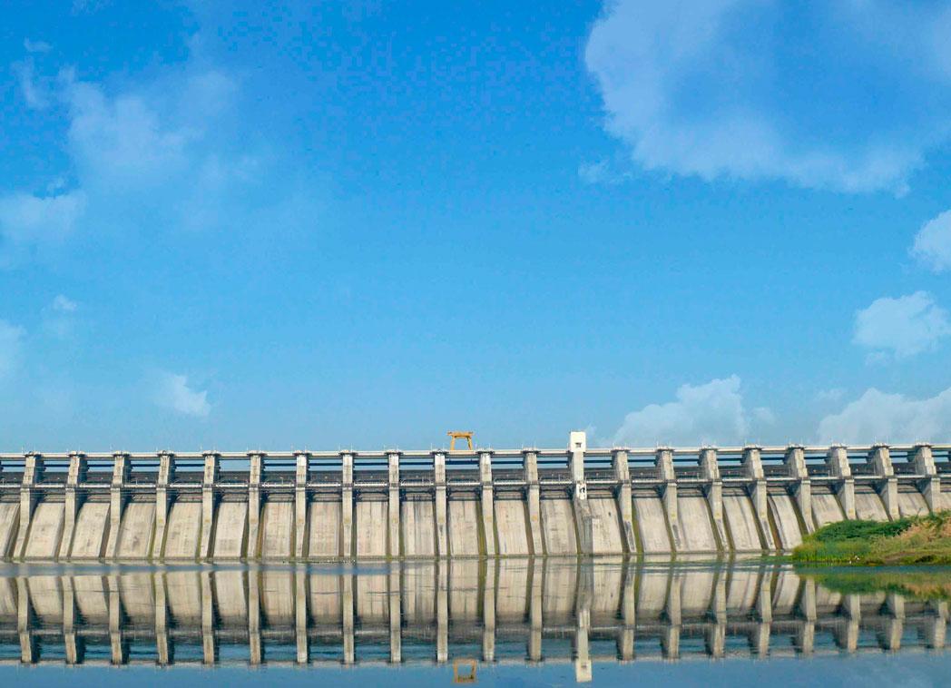 Jayakwadi Dam in Maharashtra