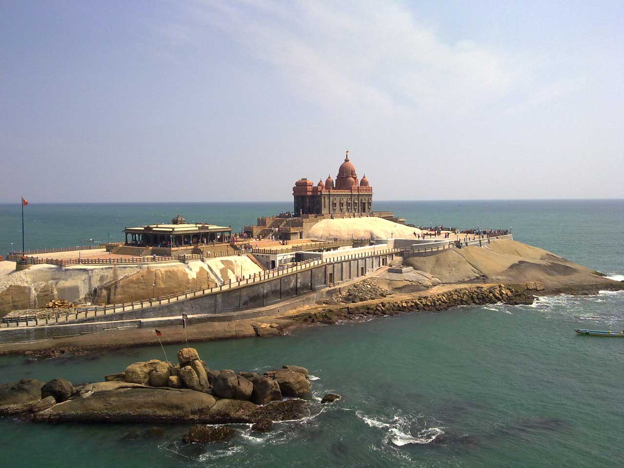 Kanyakumari in pilgrimage holiday destinations in india
