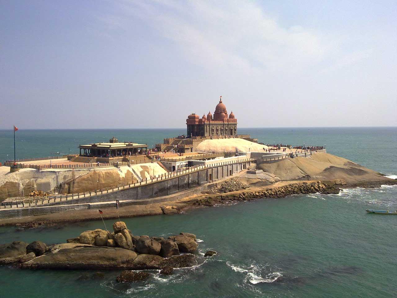 Kanyakumari in pilgrimage holiday destinations in india