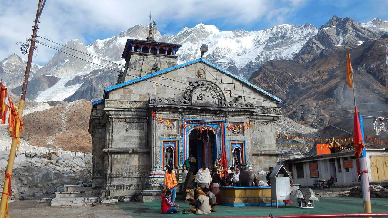 Kedarnath in Spiritual holiday destinations in india
