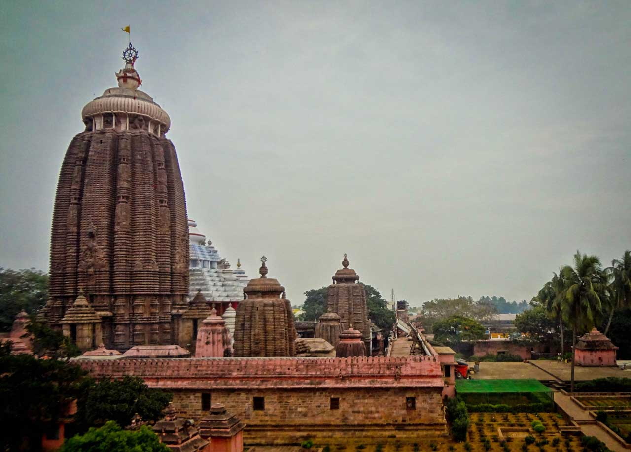 Jagannath Temple in Puri with Spiritual holiday destinations in india