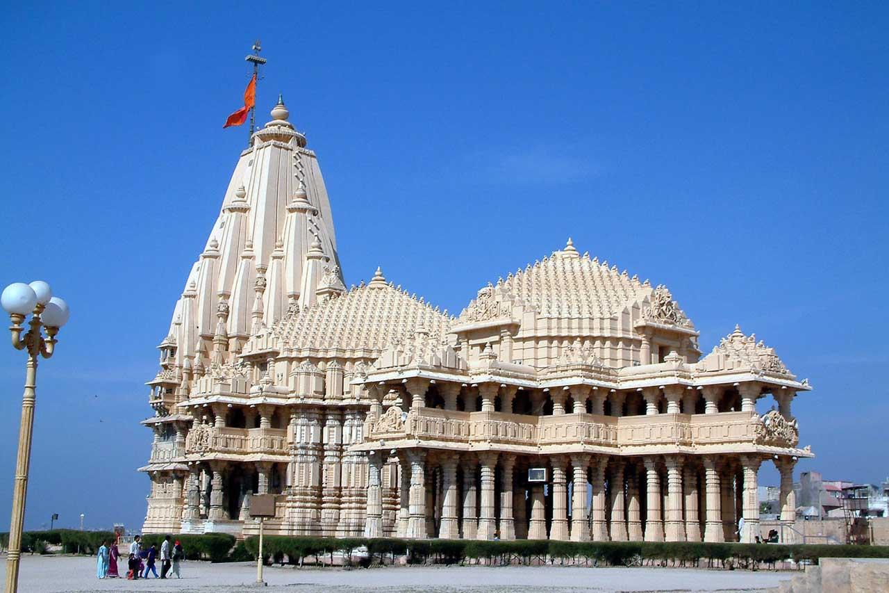 Somnath Jyotirlinga, Gujarat with Spiritual holiday destinations in india