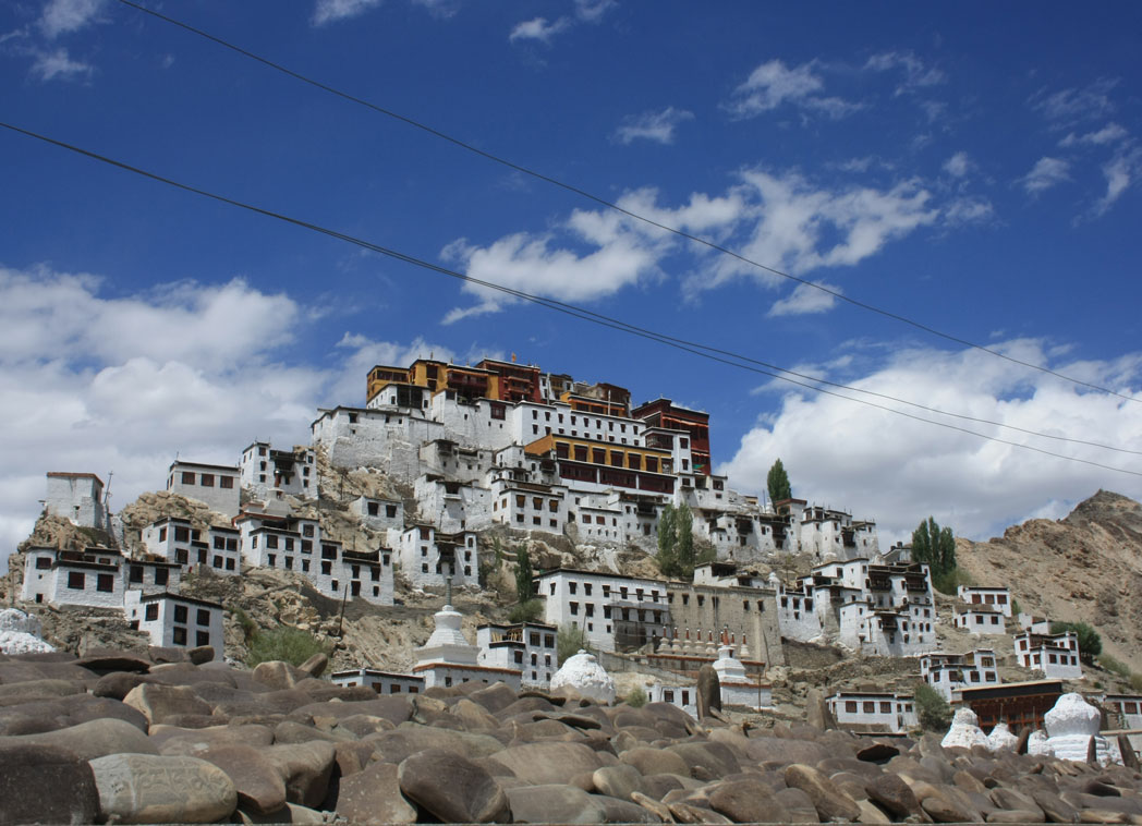 Thiksey Monastry