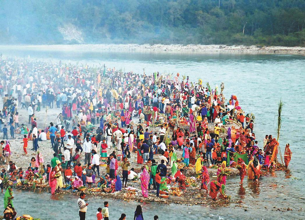 Triveni Ghat in rishikesh