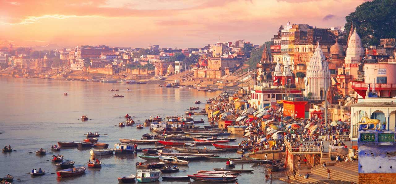 Varanasi - pilgrimage holiday destinations in india