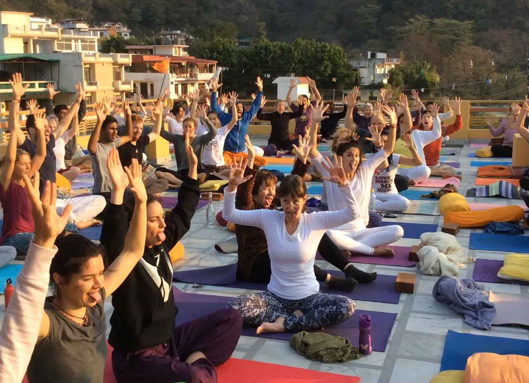 Yoga and Ashrams rishikesh