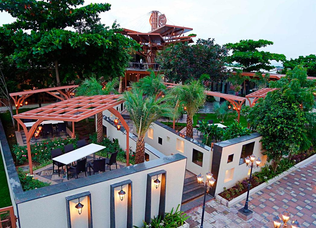 marvelous garden houses in Aurangabad