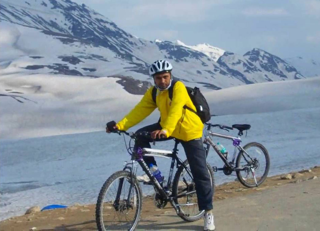 Cycling in leh Ladakh