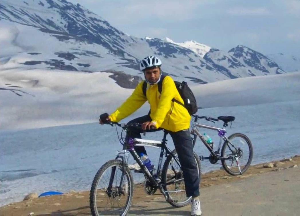 Cycling in leh Ladakh