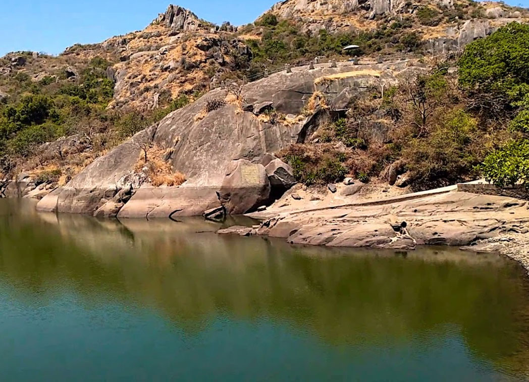 Trevors tank in mount abu