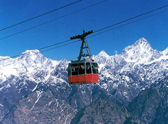 Cable Car ride in Mussorie