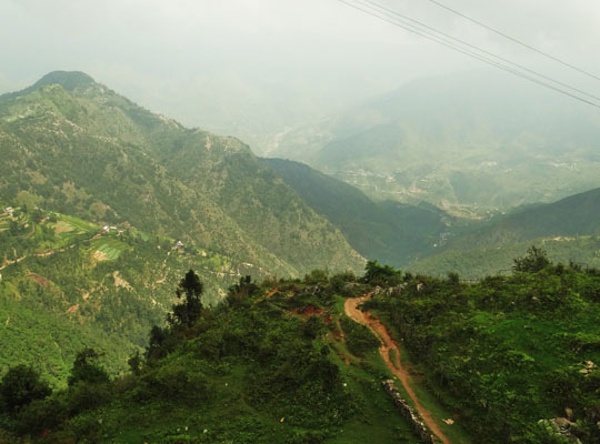 Dhanaulti view in Mussoorie