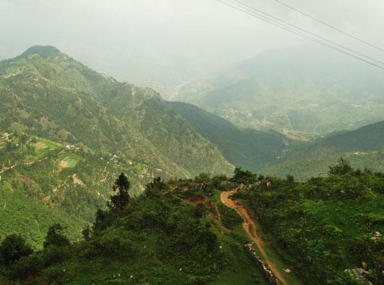 Dhanaulti view in Mussoorie