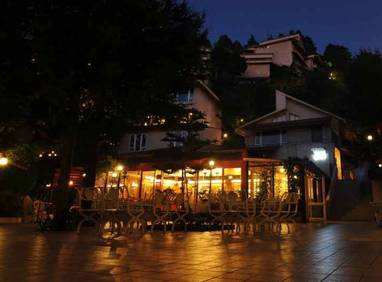 mall Road in Mussoorie