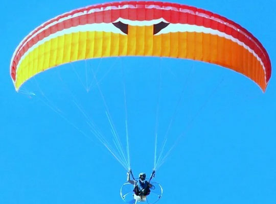 Paragliding in mussoorie