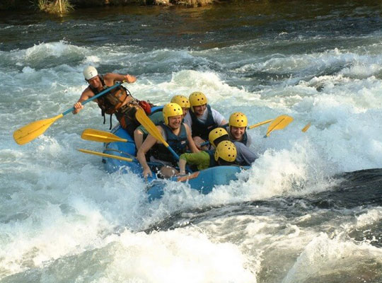 River Rafting in mussoorie