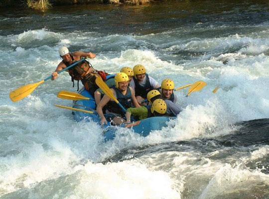 River Rafting in mussoorie