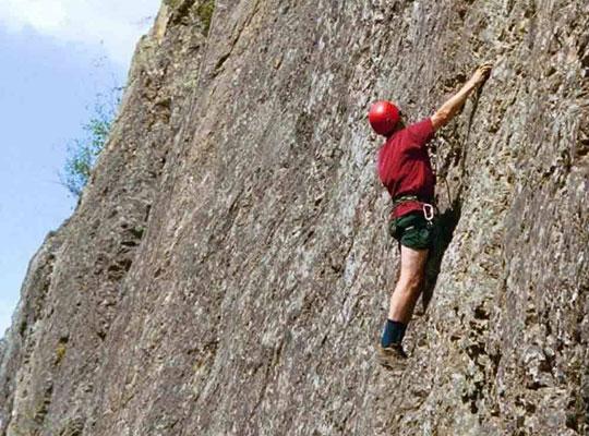 Rock Climbing in Mossoorie