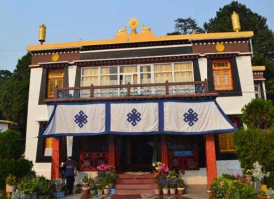Shedup Choepelling Temple in mussoorie