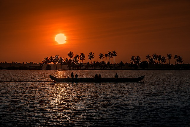 Kerala - Sunset