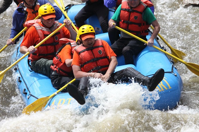 Stream Rafting in Siang
